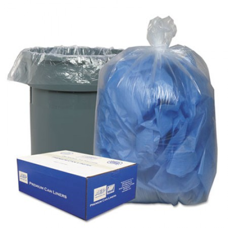 Linear Low-Density Can Liners, 33 gal, 0.63 mil, 33