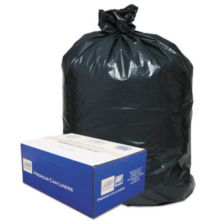 Linear Low-Density Can Liners, 60 gal, 0.9 mil, 38