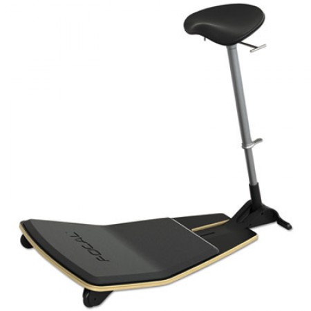 Locus Learning Seat by Focal Upright, Black/Black, Black Base