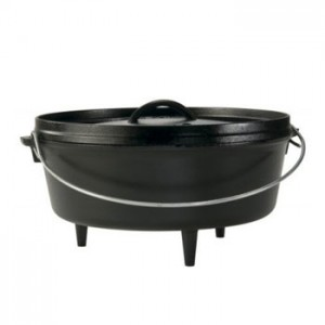 Lodge 12C02A Outdoor Dutch Oven 6 Qt.