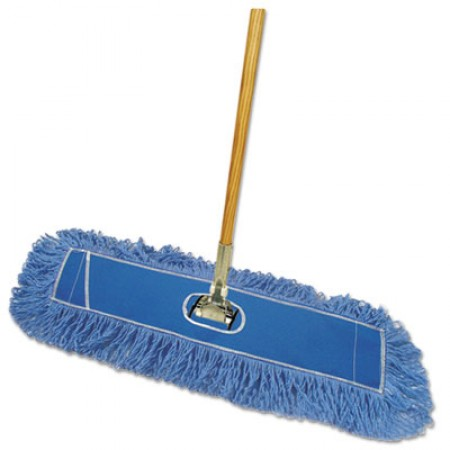 Looped-End Dust Mop Kit, 36 x 5, 60