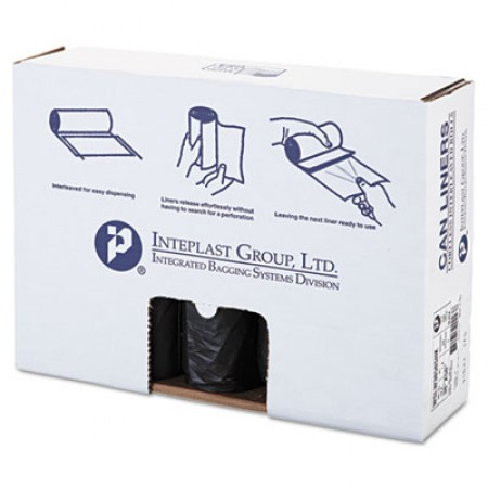 Low-Density Commercial Can Liners, 60 gal, 1.4 mil, 38