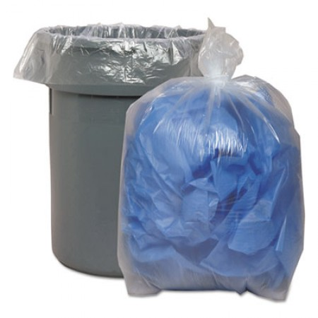Low Density Repro Can Liners, 60 gal, 1.4 mil, 38