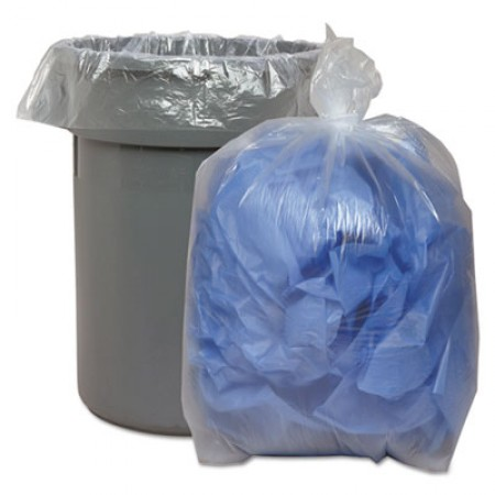 Low Density Repro Can Liners, 60 gal, 1.75 mil, 38