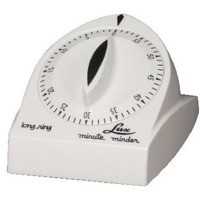 Lux Products CP1929 White Long Ring Timer
