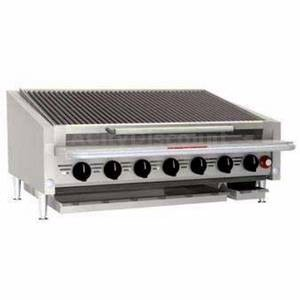 Magikitchn APL-RMB-672 72Counter Top Stainless Radiant Gas Charbroiler