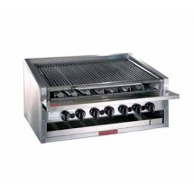 Magikitch'n APM-RMB-624 Radiant Gas Counter Top Charbroiler 24""