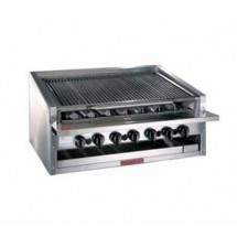 Magikitch'n APM-RMB-624CR Radiant Gas Countertop Charbroiler 24""