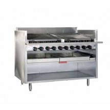 Magikitch'n FM-RMB-636 Floor Model Radiant Gas Charbroiler 36""