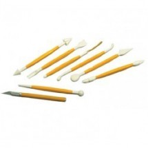 Matfer 431220 Box of 8 Marzipan Sculpting Set