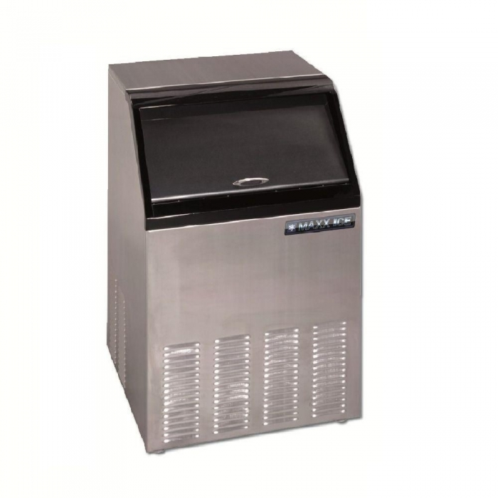 Maxx Ice MIM100 100 Lb. Self-Contained Ice Maker with Bin