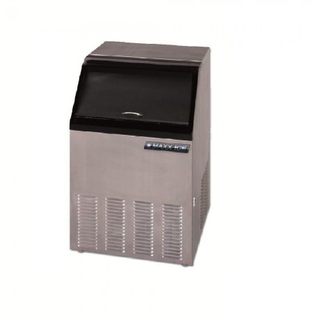 Maxx Ice MIM130 130 Lb. Self-Contained Ice Maker with Bin