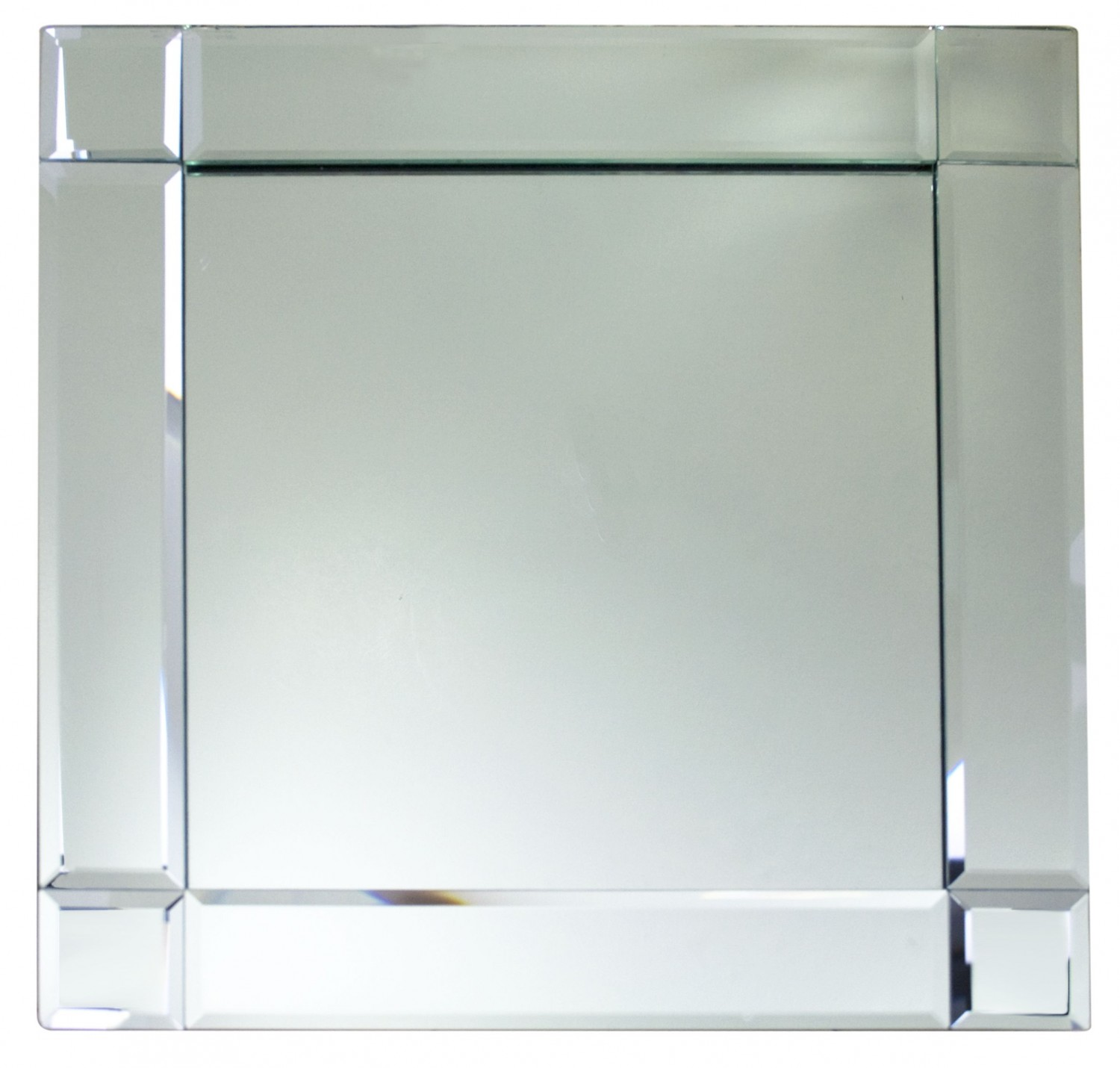 """The Jay Companies 1330052 Square Glass Mirror Charger Plate 13"""" x 13"""""""