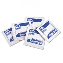 Moist Towelettes, Lemon Scented, Individually Wrapped, 1000/Carton