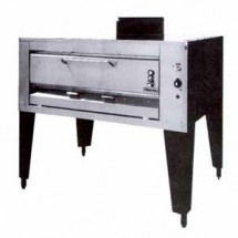 "Montague 14P-1 Single Deck Gas Pizza Oven 48-1/2"" x 36"""