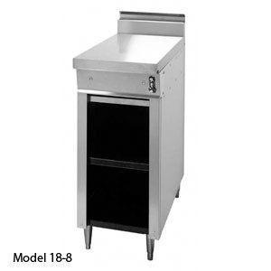 "Montague 18-S Legend 18"" Heavy Duty Add-A-Unit Gas Range With Stainless Steel Work Top"