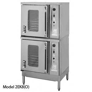 Montague 2EK8N Vectaire Convection Oven With Left Swing Doors