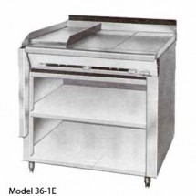 Montague-36-1G-Legend-36--Heavy-Duty-Gas-Range-With-12--Fry-Top---12--Gradient-Heat-Top-With-Open-Cabinet-Base