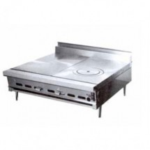 Montague-C36-15-Legend-36--Heavy-Duty-Countertop-Gas-Range-With-Even-Heat-Hot-Top---Ring---Cover-Hot-Top