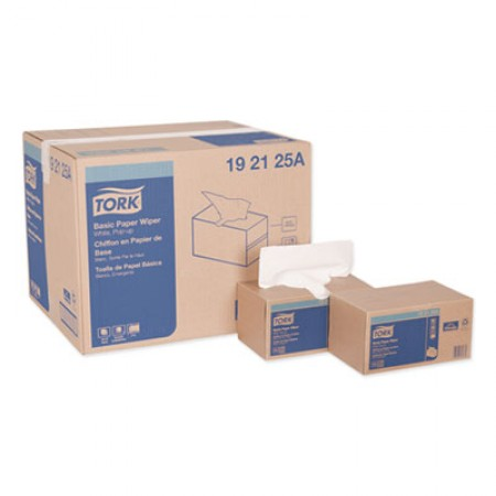 """Tork Basic Paper Wipers, 9"""" x 10-1/4"""", 18 Boxes/Carton"""