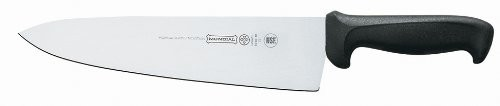 Mundial 5610-10 Cook's Knife with Wide Blade, Black Handle 10