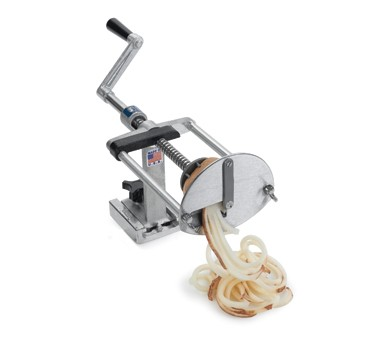 Nemco 55050AN-WCT Spiral Fry Manual Chip Twister Wavy Fry Kutter
