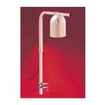 Nemco 6004-1 Single Bulb 250 Watt Heat Lamp with Portable Clamp