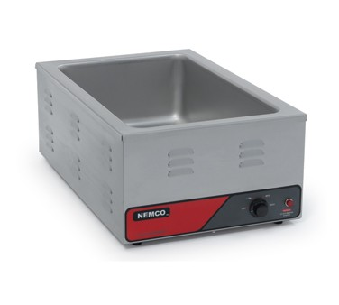 Nemco 6055A-220 Full Size Countertop Food Warmer 1200 Watt, Export