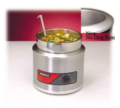 Nemco 6110A-220 Countertop  Single Well Warmer 4 Qt. Export