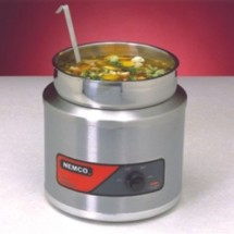 Nemco 6110A Countertop Single Well Warmer  4 Qt.