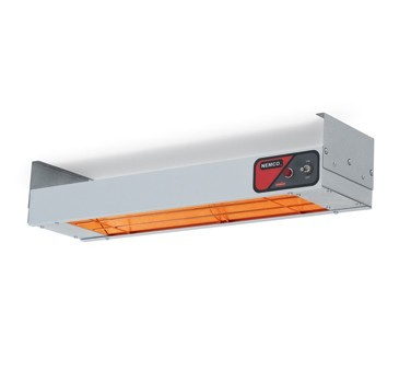 "Nemco 6150-24 Single Infrared Strip Warmer with On/Off Toggle Controls 24"" - 120V, 500W"