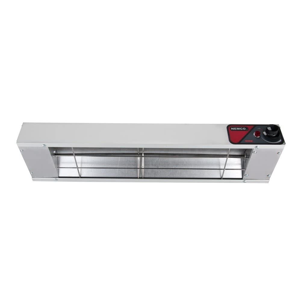 Nemco 6151-60 Single Infrared Strip Warmer with Infinite Controls 60& - 120V, 1400W