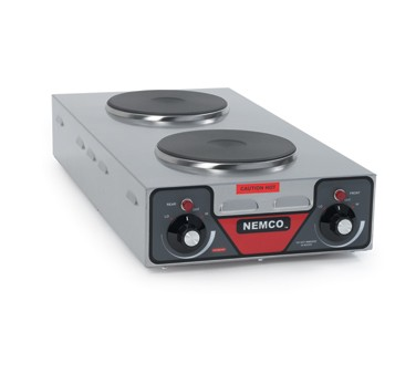 Nemco 6310-3-240 Vertical Double Burner 3000 Watt Hot Plate