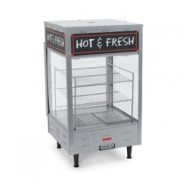 "Nemco 6454 Hot Food Merchandiser with Three 15"" Shelves 120V"