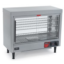Nemco 6460 Heated Display Case with 3 Removable Shelves