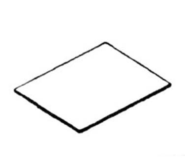 Nemco 66795 Square Pizza Baking Stone for 6205 Oven