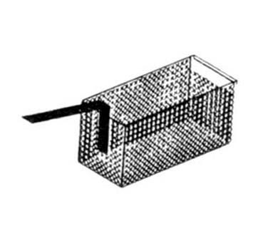 "Nemco 67016 Twin Stainless Steel Basket for Nemco 6750-240 Pasta Rethermalizers 2-1/2"" x 4"" x 4"""