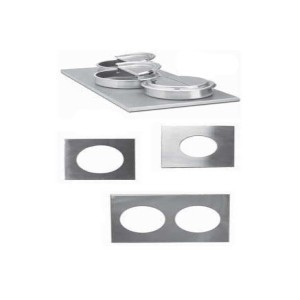Nemco 68592 4 Hole Steam Table Adapter Plate 4 Qt.