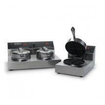 Nemco 7000-2S240  Dual Waffle Baker, Cast Aluminum and Silverstone