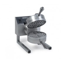 Nemco 7020A-1S Silverstone Non Stick Belgian Waffle Baker with Fixed Grids, 120V