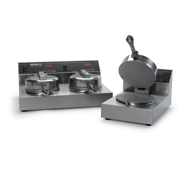Nemco 7030A-2 Double Grid Waffle Cone Maker - 120V
