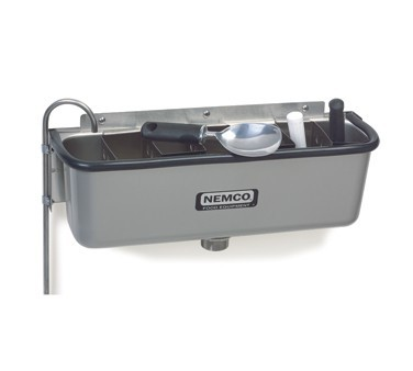 """Nemco 77316-19 Ice Cream Dipper Well and Faucet Set 19"""""""