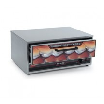 Nemco 8018-BW Moist Heat Bun and Food Warmer Fits Under 8018 Roller Grill