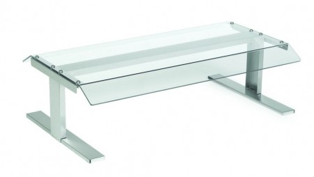 Nemco 8250-CGD Polycarbonate Pass-Through Canopy Sneeze Guard for 8250 Series Roller Grills