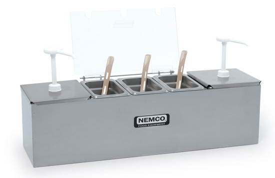 Nemco 88250-CB 20 oz. Ice Pack for Condiment Station