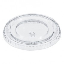 Dart Non-Vented Cup Lids, Clear, Fits 12  oz. Cups, 2500/Carton