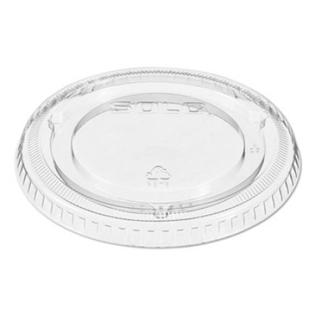 Dart Non-Vented Cup Lids, Clear, Fits 9-22  oz. Cups, 1000/Carton