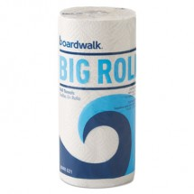 """Office Packs Perforated Paper Towel Rolls, 2-Ply,White, 9"""" x 11"""", 12 Rolls/Carton"""