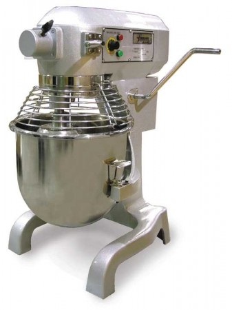 Omcan (FMA) 17835 Baking Mixer with Guard and Timer 20 Qt.