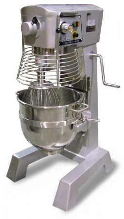 Omcan (FMA) 17836 Baking Mixer with Guard and Timer 30 Qt.